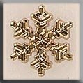 12038 Medium Snowflake Gold