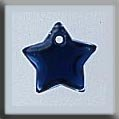 12173 Small Flat Star Royal Blue
