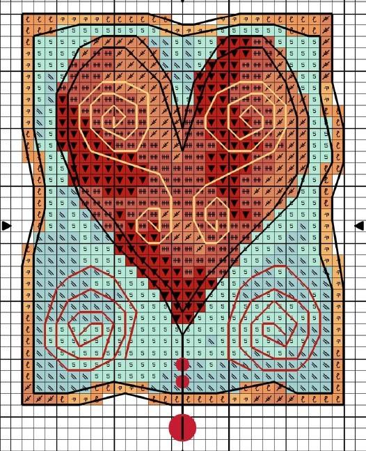 Вышивка крестом майкл пауэлл схемы 9