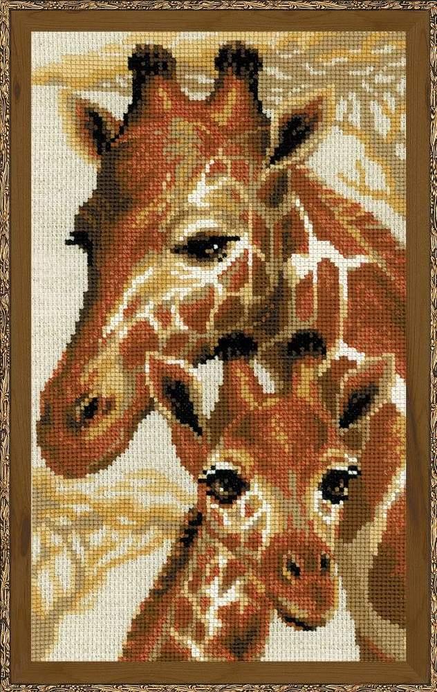 Жирафы вышивка значение 86