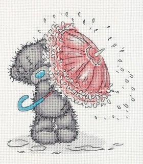 Tatty Teddy с зонтиком