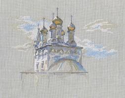 Набор для вышивания РТО М736 Золото куполов купить в интернет-магазине У Люсиль
