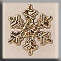 12036 Small Snowflake Gold