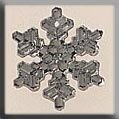 12037 Medium Snowflake Crystal Bright