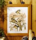 Синицы зимой. Артикул: Orchidea-8171. Наборы для вышивания